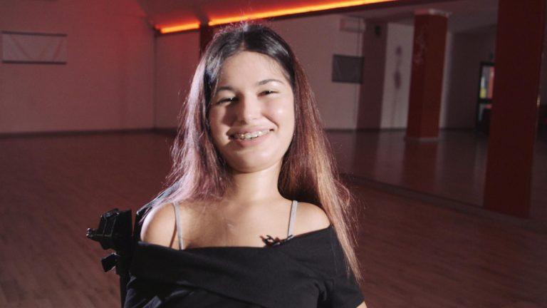 La testimonianza di Maddalena, campionessa nazionale di danza paralimpica